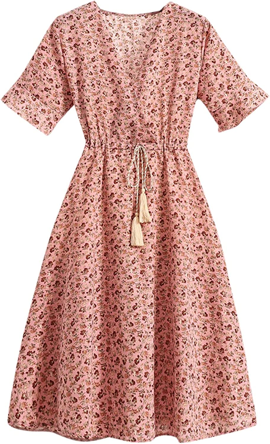Sayhi Summer Dress for Women V-Neck Up Sale SALE% OFF French Lace Print Floral Limited time cheap sale