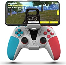 Mobile Game Controller for PUBG for Call of Duty Mobile, Delta essentials Wireless Game Controller for iPhone/iPad/Samsung/HuaWei/PS3/PC Windows Support KeyMapping