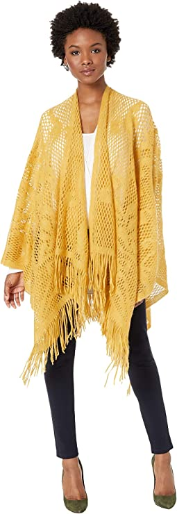 Crochet Raschel Knit Cover-Up
