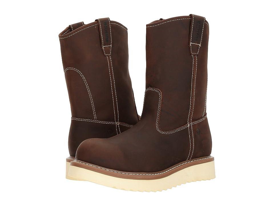 Wolverine Loader 10 Steel Toe Boot (Brown) Men