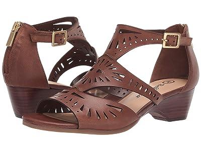 Bella-Vita Penny (Camel Burnish Leather) Women