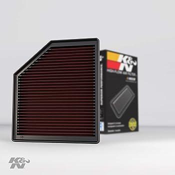 K/&N Filters Fits 2001-2009 Volvo V70 S80 S60 XC70 Hi-Flow Air Intake Filter