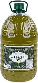 Aceite de Oliva Virgen Extra Extración Temprana Obtenido del Primer Prensado en Frío de la exquisita variedad picual (Garrafa de 5L)
