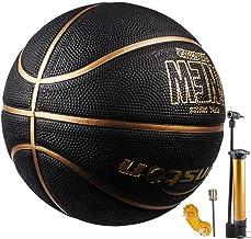 Senston Basketball Größe 7 Basketbälle Arena Training Erwachsene Anfänger Gummibasketball