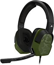 PDP PS4 LVL 3 Stereo Gaming Headset 051-032-NA-NCAM, Green Camo