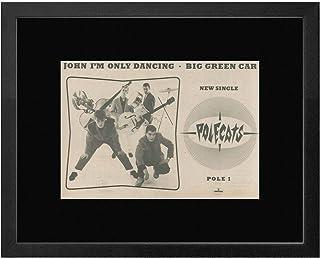 Polecats - John I'm Only Dancing/Big Green Car Framed Mini Poster - 33.5x44cm