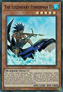The Legendary Fisherman II - LEDU-EN015 - Super Rare - 1st Edition - Legendary Duelists (1st Edition)