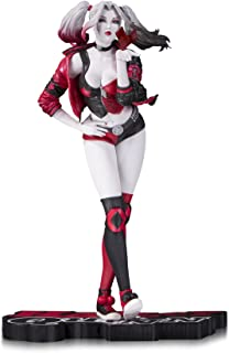 DC Collectibles Harley Quinn Red White & Black: Harley Quinn by Stanley Artgerm Lau Resin Statue