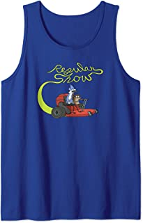 Regular Show Mordecai and Rigby Mower Tank Top