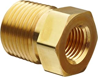 Parker Brass Pipe Fitting, Reducing Hex Head Bushing, 1/4