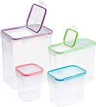 Snapware 8-Piece Airtight Food Storage Set, Plastic