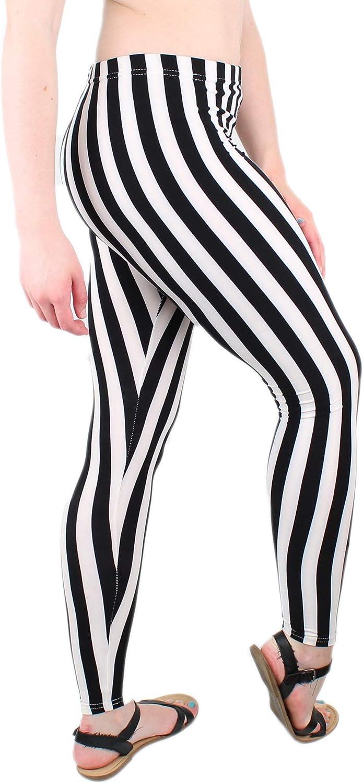 Carnival Women's Full-Length Printed Soft Microfiber Legging