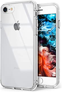 Ringke Fusion Made for Both iPhone 7 Case (2016), iPhone 8 Case (2017) Outfitted Laser Precise Clean Bumper Case - Clear Transparent