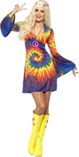 tie dye hippie dress
