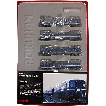 ロクハン Zゲージ T006-1 国鉄 14系 特急形客車 4両基本セット