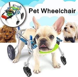 BEST WALKING Perro Mascota Silla De Ruedas Carro con 4 Ruedas para Discapacitados De Las Patas