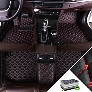 Custom Car Floor Mats For Ford Fusion 2013-2016 All Weather Waterproof Non-slip Full Covered Protection Advanced Performan...