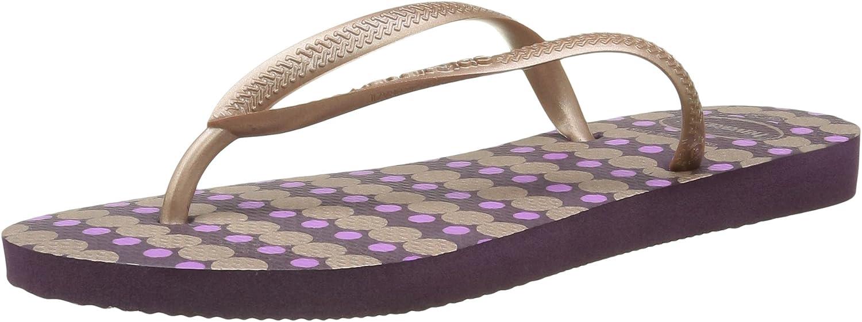 Havaianas Women's Slim Fresh Slip-On Thong Strap Sandals