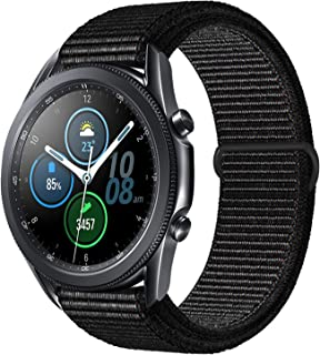 Morsey 22mm Soft Nylon Watch Bands Compatible for Samsung Galaxy Watch 46mm/Gear S3 Frontier/Classic, Sport Strap Wristban...