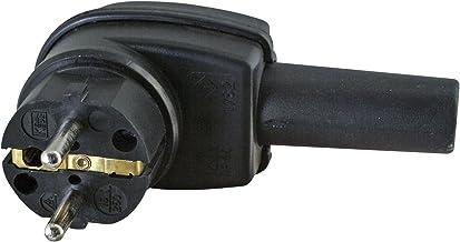 Kopp 178216047 randaarde hoekstekker, 3 x 2,5 mm2, zwart
