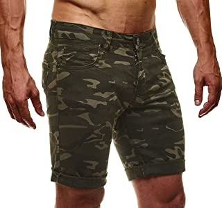 Leif Nelson LN1397 Men's Jeans Shorts