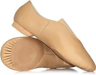 Girls Gore Top Jazz Shoes T7902C