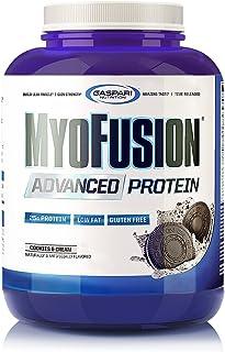 Gaspari Nutrition Myofusion Advanced Protein, Cookies and Cream, 4 Pound