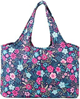 Sponsored Ad - ZOOEASS Women Fashion Large Tote Shoulder Handbag Waterproof Tote Bag Multi-function Nylon Travel Shoulder