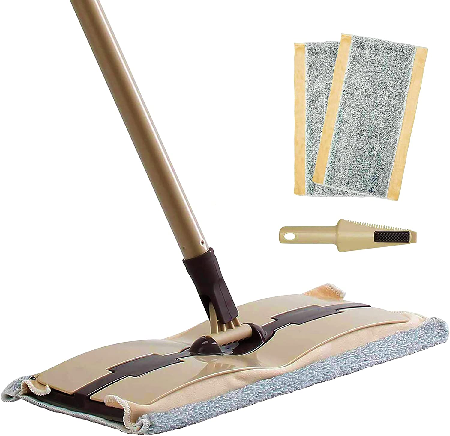 Eyliden Microfiber Mop for Floor Ranking TOP9 Cleaning - 2pcs P Attention brand Reusable with