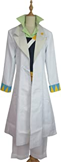 Xiao Wu Fight Against Angelo Part 4 Jotaro Kujo White Uniform Outfit Cosplay Costume