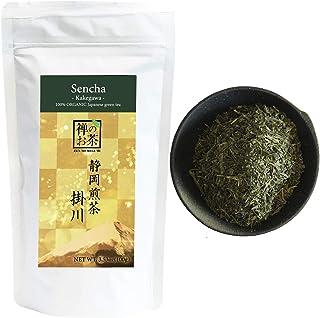 Zen no Megumi Organic Japanese Sencha leaves green tea Kakegawa Made in Shizuoka Japan (Kakegawa standard 3...