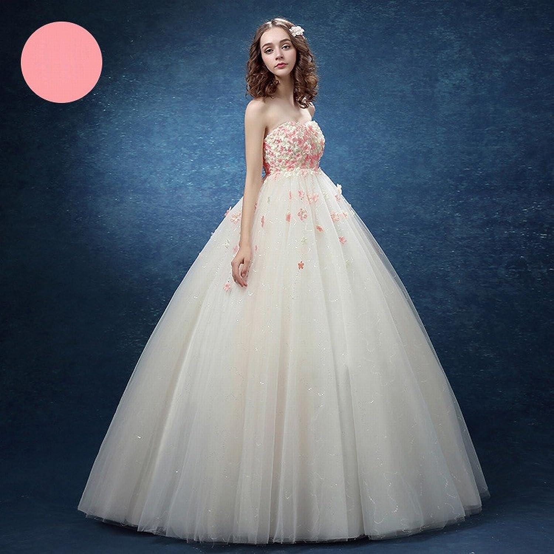DIDIDD Bridal Summer Beach Backless High Waist Wedding Dress