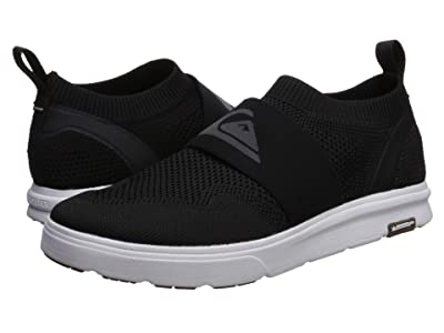 Quiksilver Amphibian Plus Slip-On (Black/Grey/White) Men