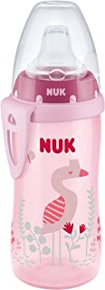 NUK Active Sippy Cup, Pink Flamingo, 10oz 1pk