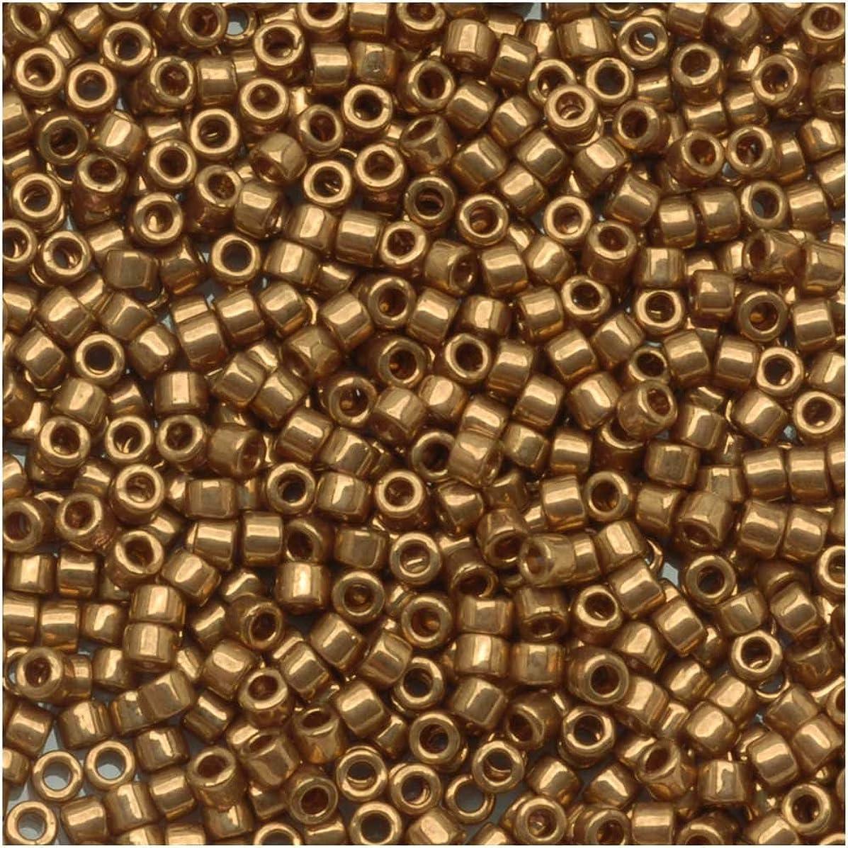 Miyuki Delica Bead 11/0 7.2 Gram Metallic Bronze DB022 915100