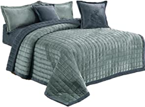 Brushed Super Soft, Luxury Micro Suede Elegant Comforter 4pcs Set, Bedding Heavy Weight Ultra Plush Blanket,Smooth Silky (...