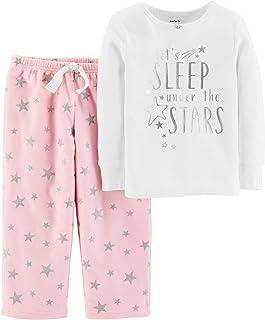 ccb17393700b0b Carter s Girls  2-Piece Fleece Pajamas Top and Pants Set