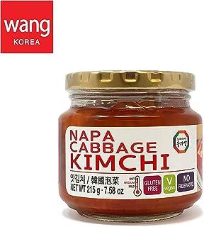 Korean Bottled Kimchi, Original Authentic Tasteful Bottle Napa Cabbage Kimchi, Vegan Gluten Free [No Preservatives] - 7.58 oz (1 Bottle)