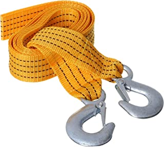 Car Towing Wire, 3 Meter - Orange