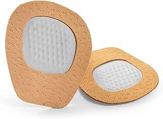 Medias Plantillas para Zapatos - Amortigución Metatarso - Evita que los pies se deslicen - Almohada de Látex de Cuero Natural y Amortiguadora - Unisex Talla Única Cody