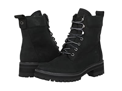 Timberland Courmayeur Valley 6 Boot (Black Nubuck) Women