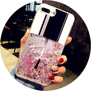 Liquid Glitter Cases for iPhone 6 6S Plus X XS Max XR Case for iPhone 8 7 Plus Case Phone Cute Perfume Quicksand Dynamic Cover,21,for iPhone 7 Plus