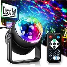 Party Lights Disco Ball Disco Lights, TONGK 7 Colors Dj Lighting Led Strobe Light Sound..