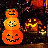 Halloween Decorations 4ft Inflatables Pumpkins Deals