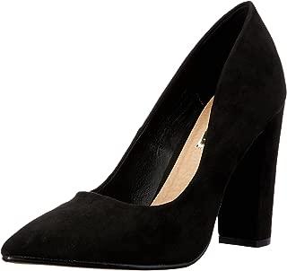 BILLINI Women's Elli Shoes, Black Suede