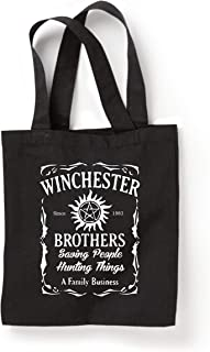 Winchester Brothers TV Series Whiskey Style Tote Bag New