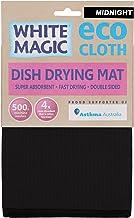 White Magic Eco Cloth Dish Drying Mat, Midnight