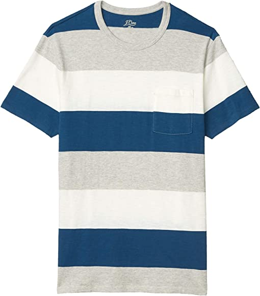 Heather Grey Dennis Stripe