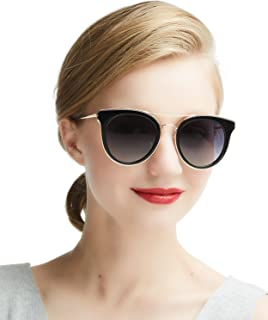DaDa Pro Vintage Polarised Women's Sunglasses Driving Sunglasses 100% UV400Protection for Driving Travel Golf Party and Leisure