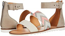 Peach Multi Suede/Multi Arrow Webbing/Waxed Leather